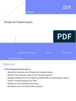SAP Change and Transport System