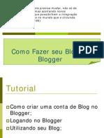Apostila para Blogger