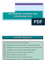 accounting changes and errors