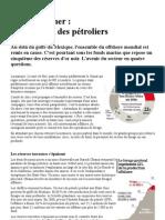 Article_20100609_forage en Mer - Le Casse Tete Des Petroliers