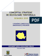 Conceptul strategic de dezvoltare teritoriala