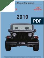 Thar Vehicle Dismantling Manual