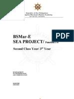 Sea Project Sample!
