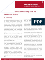 NICKERT Whitepaper Risiko der Insolvenzanfechtung
