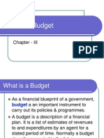 Basics of Budget