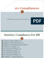 Statutory Compliances 08.10.2012