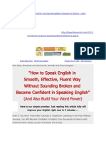 Quickly Learning and Speaking English