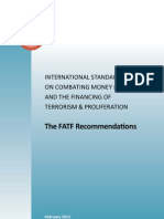 FATF Recommendations (Approved February 2012) Reprint May 2012 Web Version