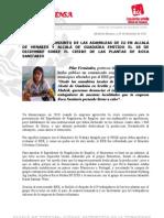 COMUNICADO DE LAS ASAMBLEAS DE IU EN ALCALÁ DE HENARES Y ALCALÁ DE GUADAIRA SOBRE EL ERE DE ROCA