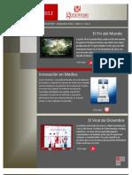 Marketing Newsletter - Diciembre 2012