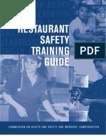 Restaurant Safety Training Guide