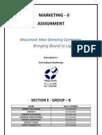 Mountain Man beer company