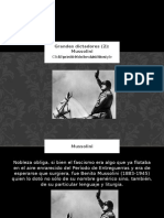 Mussolini-Alejandro Osvaldo Patrizio.