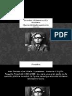 Pinochet-Alejandro Osvaldo Patrizio.