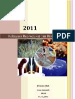 Makalah Biologi Rekayasa reproduksi dan bioteknologi