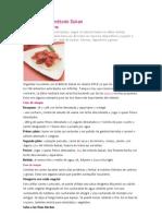 Menús para el método Dukan