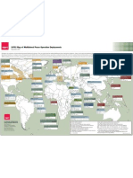 SIPRI Map of Multilateral Peace Operation Deployments, September 2012