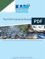 KAM's Industrial Business Agenda – 2012