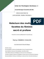 Relecture - Des - Multiples - Facettes - Du - Feminin - Sacre - Et - Profane