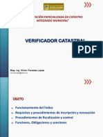 VERIFICADOR CATASTRAL