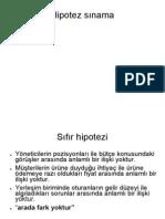 Araştırma Tasarımı III
