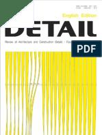 Detail Magazine September October 2012