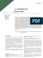 5.- Reeducacion, Rehabilitacion e Interdisciplinariedad