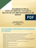 Responsabilidad Penal de Los Prevencionistas de Riesgos