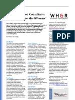 25 Company Profile WHR