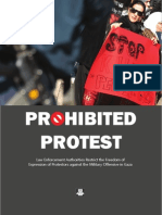 Prohibited Protest