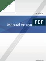 Manual de Celular Utech - U900