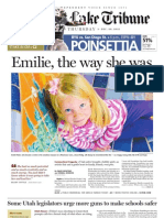 Newtown victim Emilie Parker profile from The Salt Lake Tribune, 12/20/12