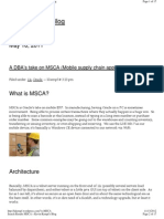 dba's take on msca