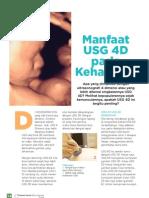 Manfaat USG 4D pada Kehamilan
