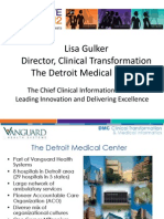 Lisa Gulker - 'The Chief Clinical Information Officer:Leading Innovation and Delivering Excellence'