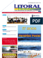 Jornal DoLitoral Paranaense - Edição 196 - Natal - Online - Dezembro 2012