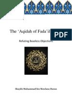TheAqidahofFadailAmalRefutingBaselessObjections