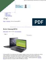 » Review Samsung RF511 - Tudo em Tecnologia