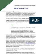 Ctbl - Centro de Lucro - SAP R3