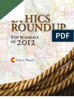 Ethics Roundup 2012 Final