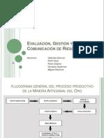 Evaluación, Gestión y Comunicación de Riesgos