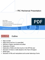 FIRST Robotics - FRC Mechanical Presentation