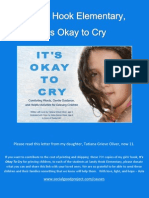 Sandy Hook Elementary, It's Okay to Cry