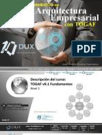 Información Curso TOGAF 2013
