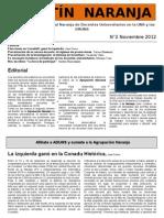 Boletín 2 - Noviembre 2012