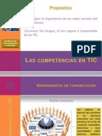 Las Competencias Docentes en TIC 2