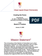 UDC Tuition Increase Presentation