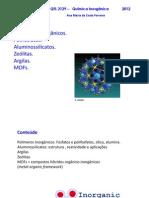 Aula 13 -Polimeros Inorganicos