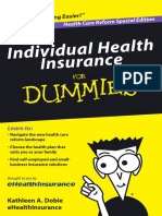Individual Health Insurance for Dummies