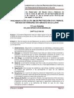 Ley 226 de Proteccion Civil Para El Edo de Ver